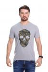 Camiseta Caveira Mescla