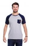 Camiseta Raglan Mescla