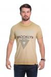 Camiseta Brooklyn Bege