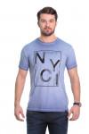 Camiseta NYC Marinho