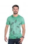Camiseta Folhas Verde