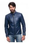 Jaqueta de Couro Blue