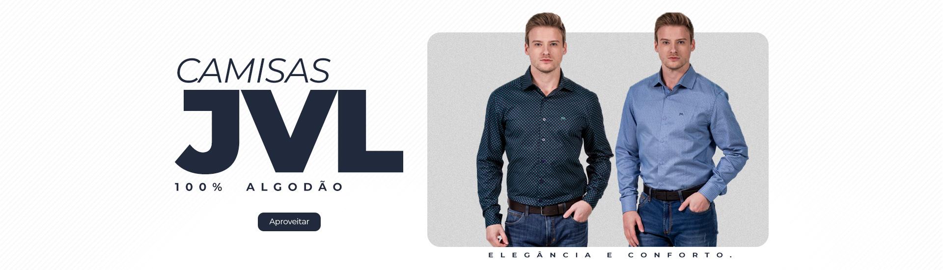 Compre camisas sociais JVL, cheias de estilo.